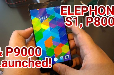 Elephone Launches Metal Built, Fingerprint Scanning S1, P8000, & Flagship P9000!