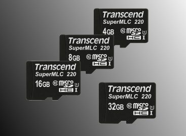 Transcend Launches microSD Cards With Faster, More Reliable SuperMLC Technology