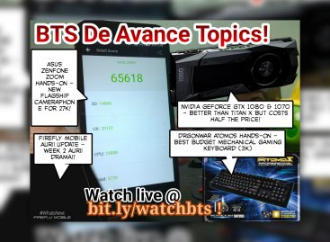BTS Podcast 5/7/2016 – Asus ZenFone Zoom, NVIDIA Geforce GTX 1080 & 1070, Dragon War Atomos Gaming Keyboard, & Firefly Mobile Aurii Update!