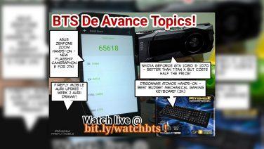 BTS Podcast 5/7/2016 – Asus ZenFone Zoom, NVIDIA Geforce GTX 1080 & 1070, Dragon War Atomos Gaming Keyboard, & Firefly Mobile Aurii Update!