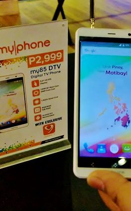 MyPhone Launches New Line Of Digital TV Equipped Smartphones