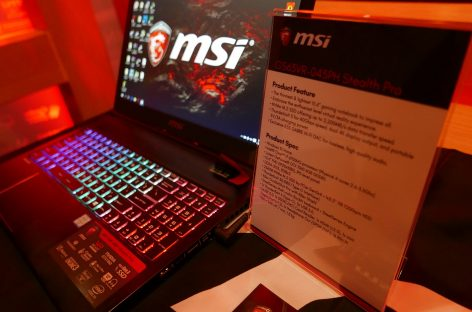 MSI Fights Back With Dual SLI NVIDIA 1080 On A Laptop (Among Others!)