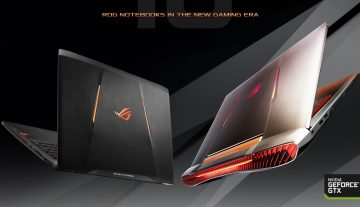 Asus Is First To Launch Gaming Laptops With NVIDIA's Pascal 10-Series GPUs