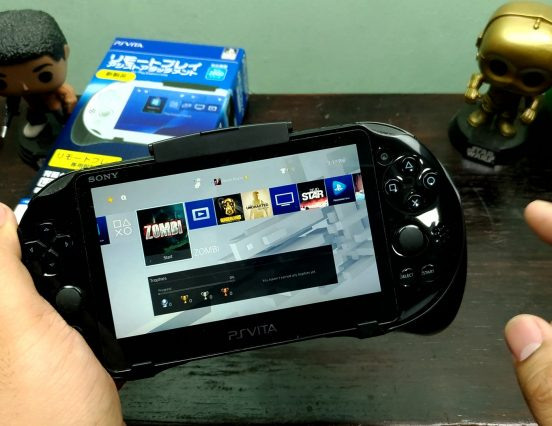 PS Vita Hori Remote Play Assistant Grip (With L2/R2 & L3/R3) Impressions