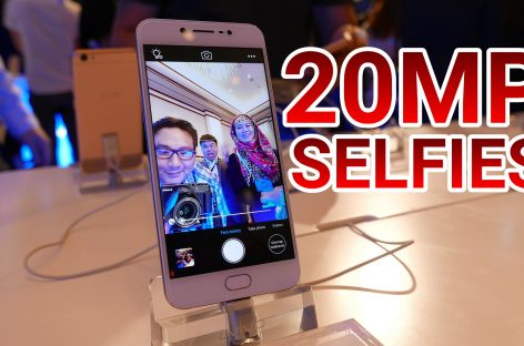 The Vivo V5 Packs A Whopping 20 Megapixel Selfie Camera