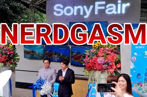Touch & Try The Newest Gadgets At The First Ever Sony Fair!