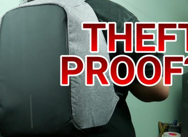 THIEVES CAN'T GET IN?! Bobby Anti-Theft Backpack Unboxing