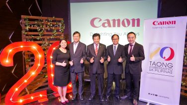 Canon Celebrates 20 Years In The Philippines; Introduces New Promos For Printers & Cameras