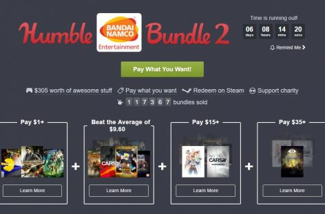 Humble BANDAI NAMCO Bundle 2 Is A Really Good Deal For A Handful Of Games!
