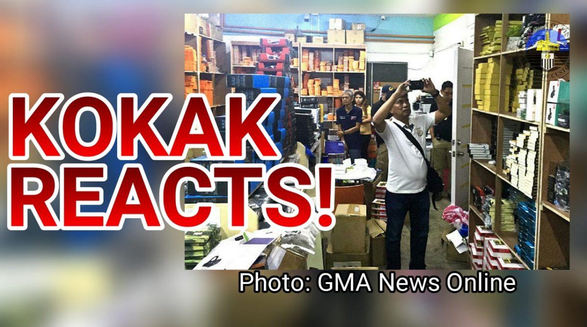 KOKAK REACTS: Kim Store Got Raided By Customs!
