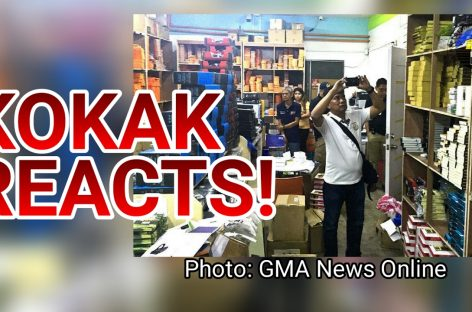 KOKAK REACTS: Kim Store Got Raided By Customs!