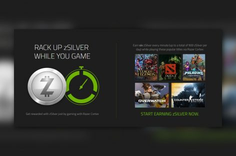 Razer Will Pay You* To Play eSports Games While Using Their Cortex Software