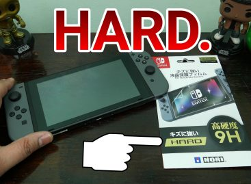 BUT IS IT HARD? Hori 9H Screen Protector For Nintendo Switch