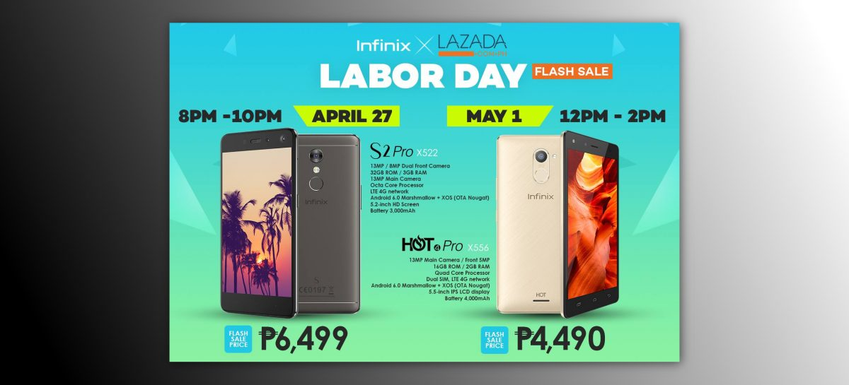 Great Value & Nougat Updatable Infinix Phones On Flash Sale