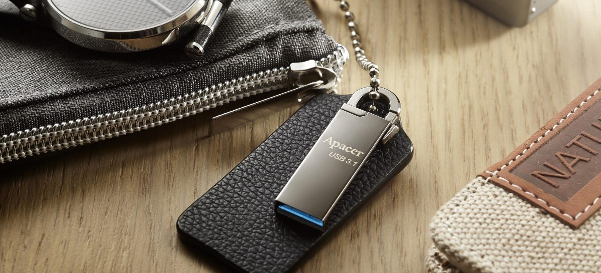 (PR) Apacer Announces AH13A/AH15A USB Flash Drives With Snap Hook