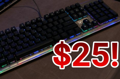 Rapoo's VPRO Line Has Some Ridiculously Affordable Mechanical Keyboards
