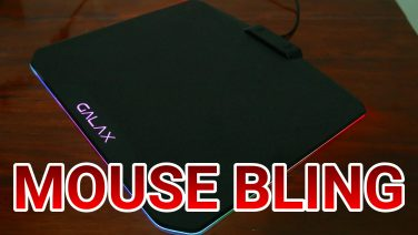 PIMP YOUR MOUSING SURFACE! (GALAX SNPR RGB Mouse Pad Review)