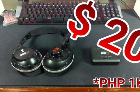 DEAL ALERT: US$20 / PHP 1,000 Wireless Gaming Headphones! 🎧