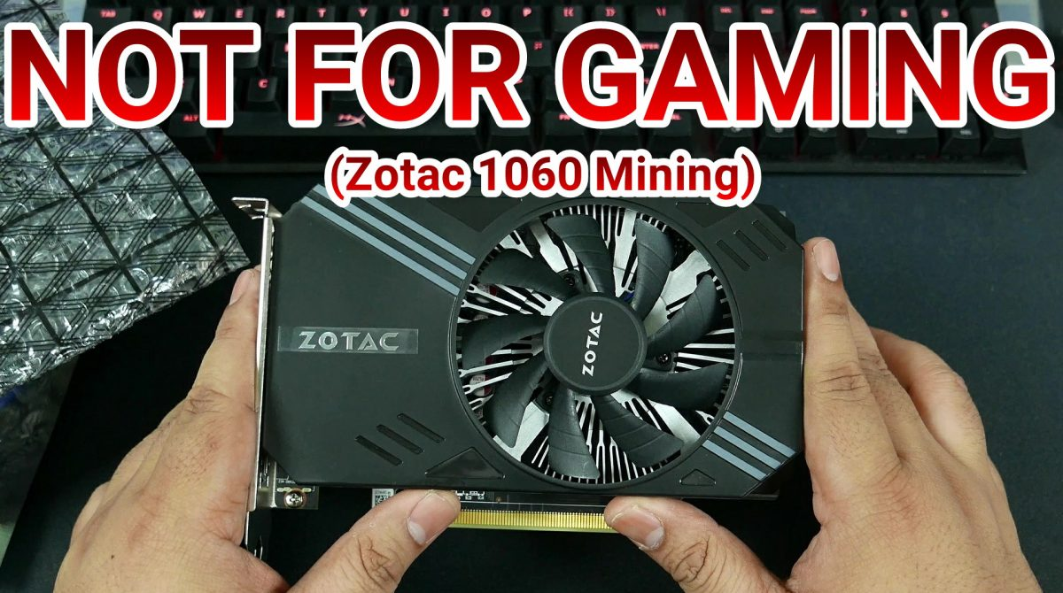 IT DOESN'T RUN CRYSIS – Zotac GTX 1060 (P106-100) Mining-Only Graphics Card Unboxing & Benchmarks