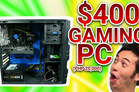 US$400 / PHP 20,000 BUDGET PUBG GAMING PC!