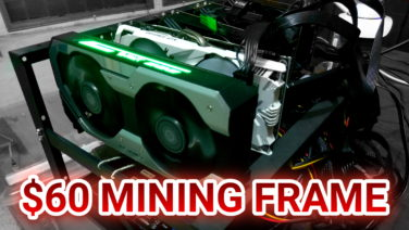 PHP 3,065 / US$ 60 GPU Mining Frame From Online (Lazada) – Unboxing / Rig Build / Crypto Vlog (4K)