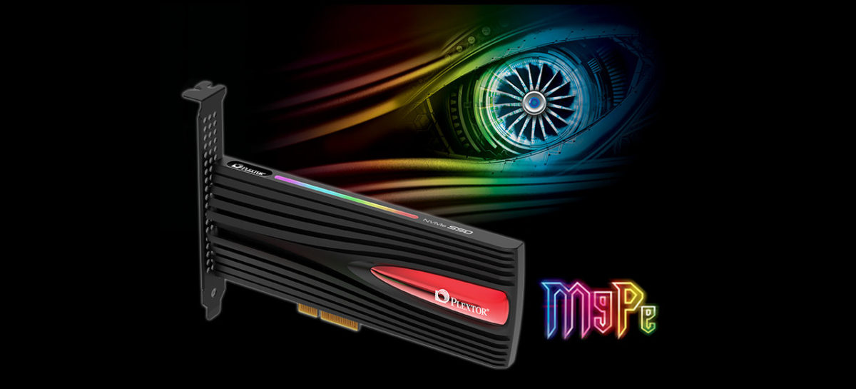 (PR) Plextor Debuts Gaming PCIe SSD with M9Pe Series Launch