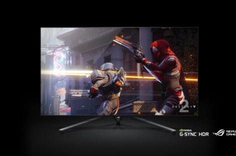Asus Announces Massive 65″ 4K 120Hz G-Sync Monitor Because Why Not?