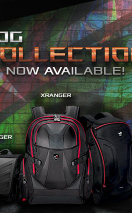 Fancy An Asus ROG Themed Gaming Bag Or Shirt – They're Available Now For These Prices!