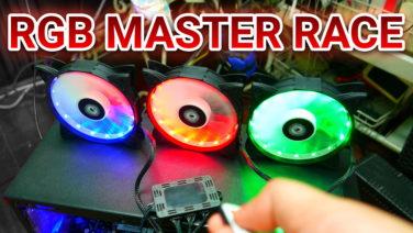 Rakk Maris Spectra 120mm RGB Fans Unboxing & Hands-On – PHP 1,395 / US$ 27 (4K)