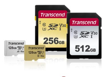 (PR) Transcend Releases New High-speed, Capacious SD and microSD Cards