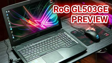 Asus RoG GL503GE Hero Edition Impressions – 12 Threaded Gaming Laptop For PHP 81,995 / US$1,500