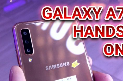 Samsung Galaxy A7 (2018) Hands-On Impressions – Photos From The Triple Cameras!