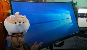 DOES DOGE APPROVE?! – AoC C24B1H Curved 24″ Monitor Unboxing (PHP 8,500 / Est. US$ 160)