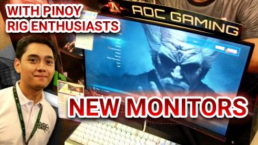 AoC Gaming Monitors Lineup Q4 2018-2019 feat. Pinoy Rig Enthusiasts (Tagalog Language)