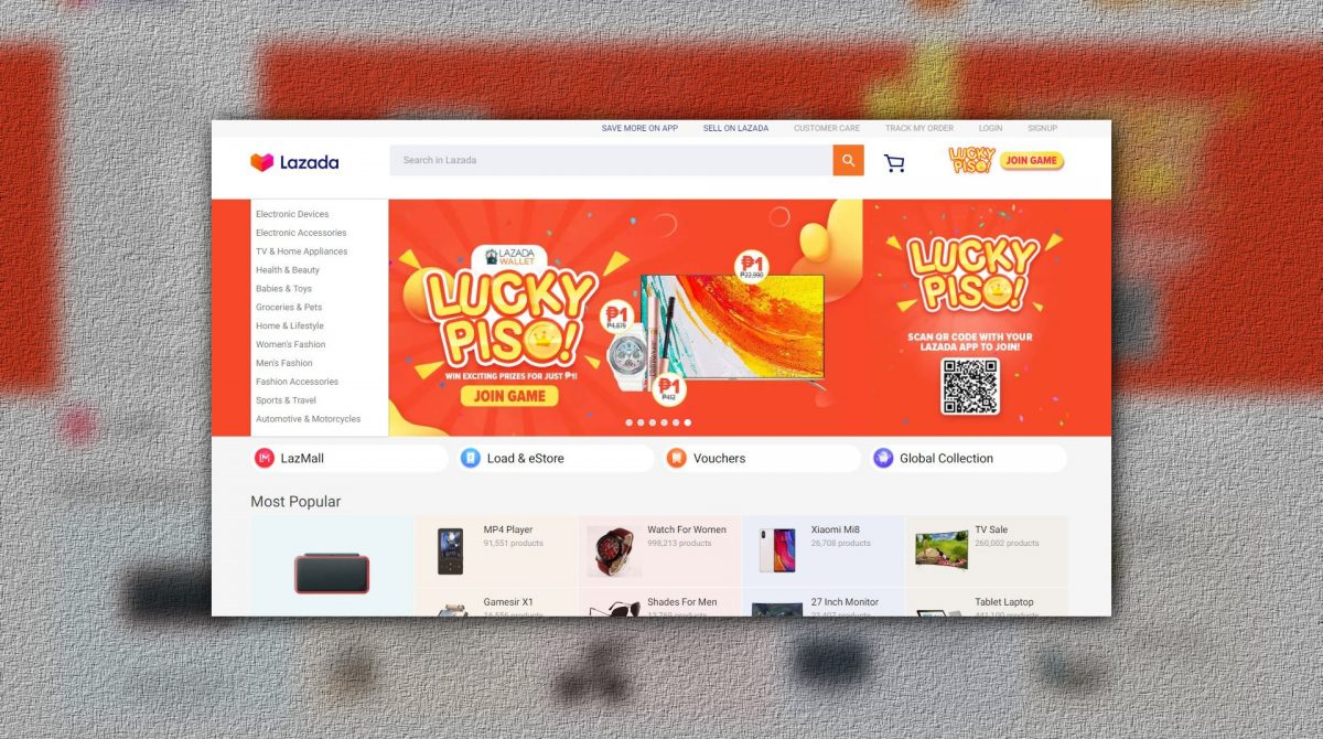 Lazada's Redesigned Website Looks A LOT Like Shopee