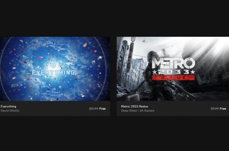 Metro 2033 Redux & Everything Are Free To Keep On Epic Games Store! (PC)