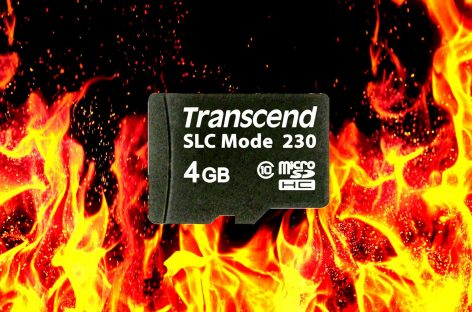 Transcend Launches Industrial-Grade MicroSD That Withstands Extreme Temperatures