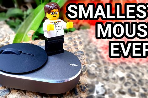 WORLD'S SMALLEST WIRELESS MOUSE (Rapoo M600 Mini Silent – PHP 800 / US$ 16)