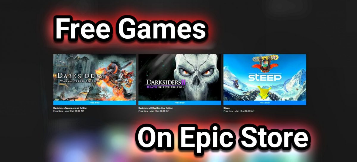 Grab These Free Games From Epic Store Today!