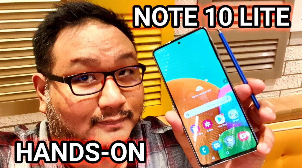 Samsung Galaxy Note 10 Lite Hands-On Impressions