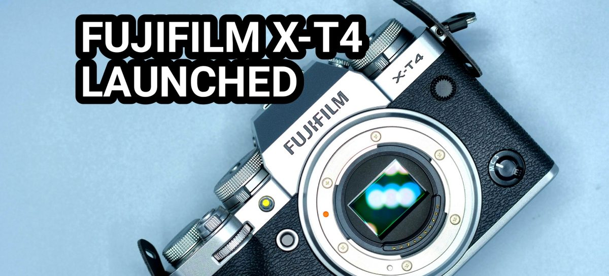 Fujifilm X-T4 Announced – Packing In-Body Stabilization & Improved Video Shooting