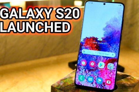 Samsung Announces Galaxy S20 Series With Big Zoom Cameras & 120Hz Displays