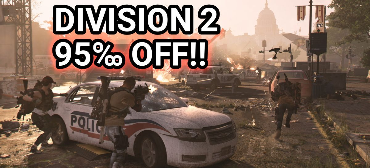The Division 2 Is Only PHP 110 / US$ 2.50 Right Now On UPlay!