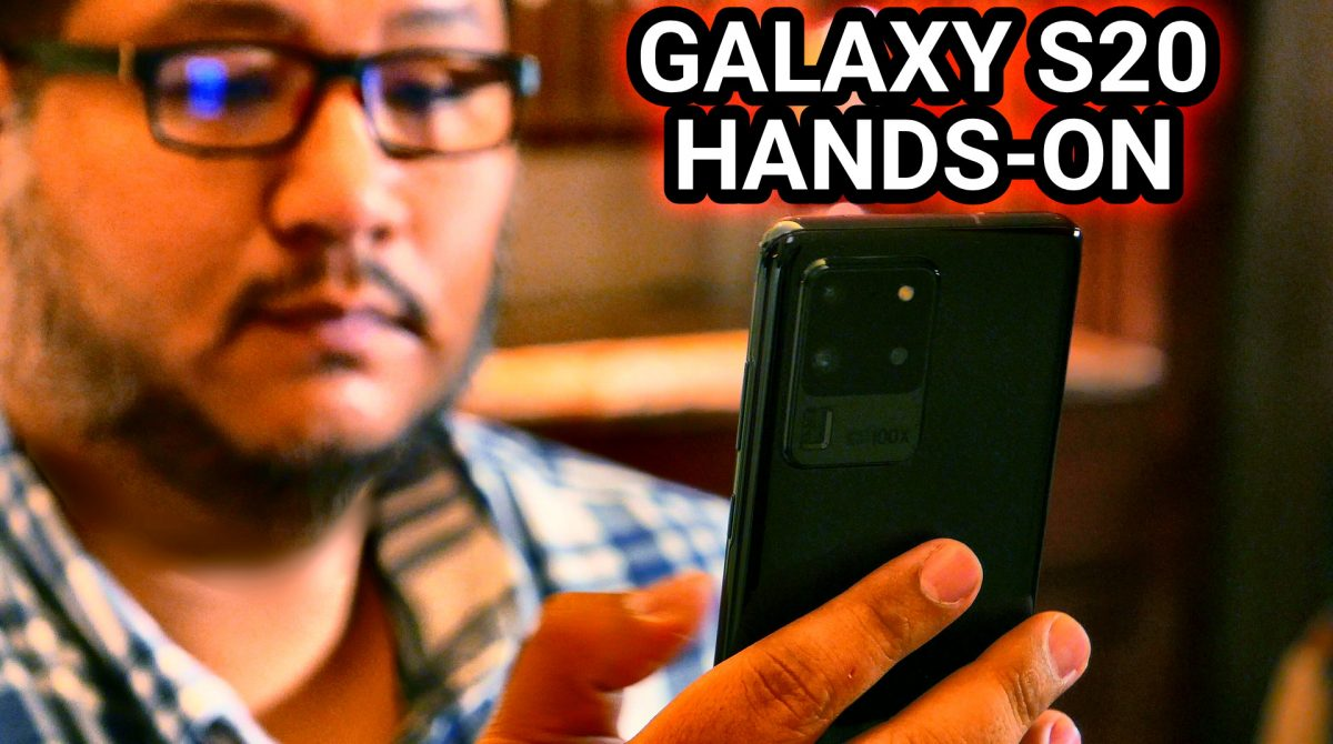 Samsung Galaxy S20 Series Hands-On Preview