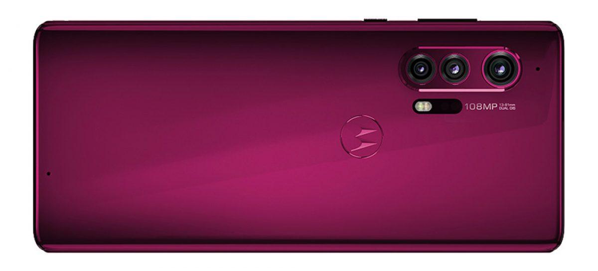 Motorola Moto Edge+ renders and specifications rises.