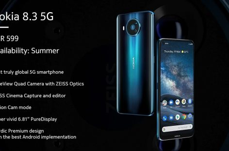 Nokia 8.3 launches with a 120Hz refresh rate display and 5G