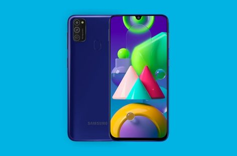 Samsung Galaxy M21 now official in India. Features 6000mAh battery, Super AMOLED display and triple rear cameras.