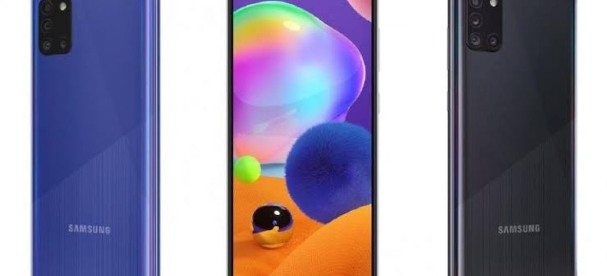 Samsung Galaxy A31 unveiled with a 5000mAh battery and Helio P65 processor.
