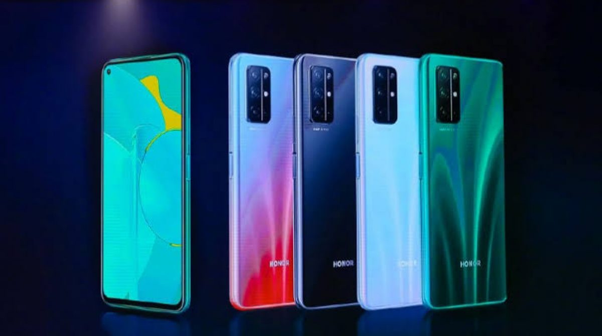 Honor 30S launches in China. Kirin 820, 40W charging,5G and Quad-cameras