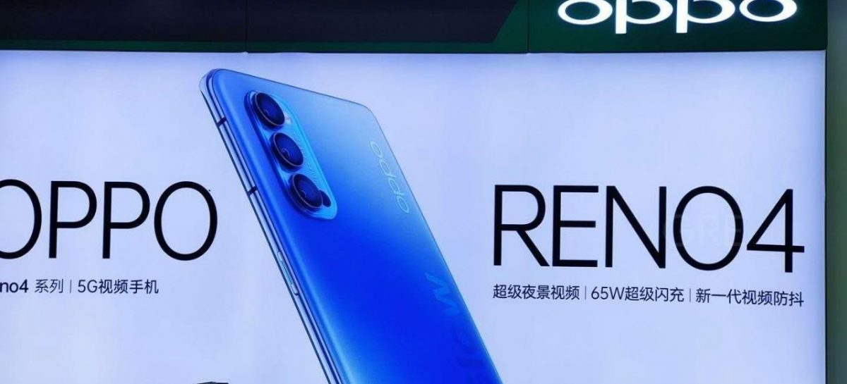 Reno 4 Spotted, Rear Camera Layout Confirmed, 65W charging hinted